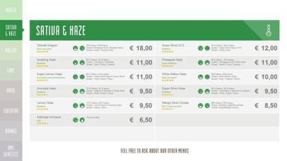Boerejongens Coffeeshops WEST sativa 2018 october