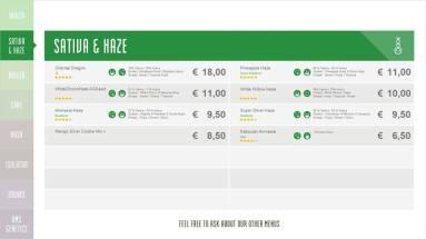 Boerejongens Coffeeshops WEST SATIVA 2018 SEPTEMBER