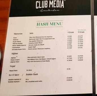 Coffee Shop hash club media 2018 january