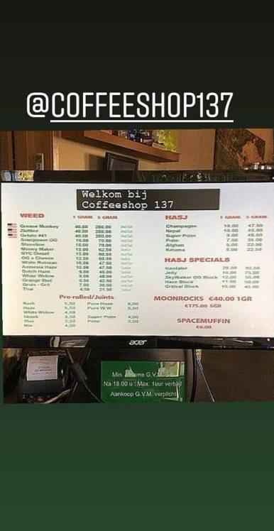 Coffeeshop 137 2018 august