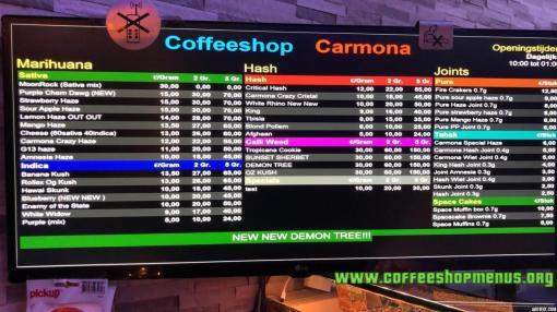 COFFEESHOP CARMONA 2018 DECEMBER