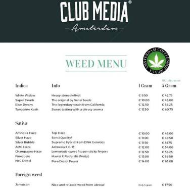 Coffeeshop CLUB MEDIA 2018 march