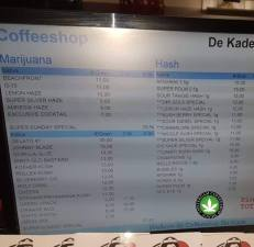 Coffeeshop De Kade 2018 august