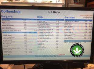 Coffeeshop De kade 2018 july