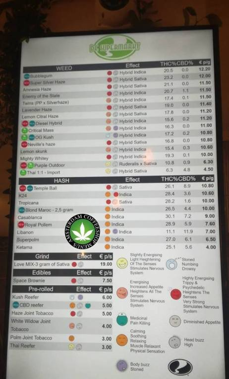 Coffeeshop De Supermarkt 2018 october