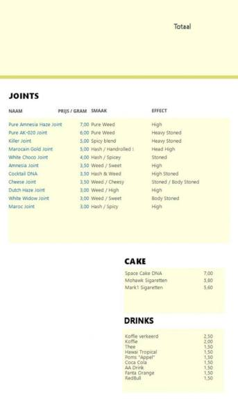 Coffeeshop DNA JOINTS CAKE 2018 OCTOBER