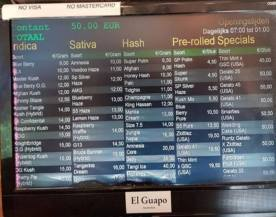 COFFEESHOP EL GUAPO 2018 FEBRUARY