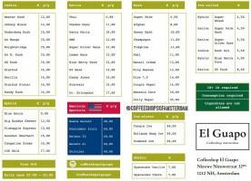 COFFEESHOP EL GUAPO 2018 JANUARY