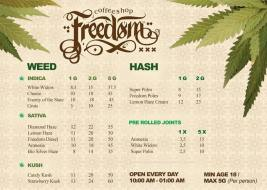 Coffeeshop Freedom 2018 OCTOBER