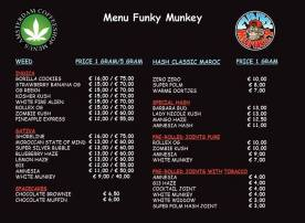 Coffeeshop Funky Munkey 2018 APRIL