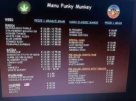 Coffeeshop Funky Munkey 2018 july