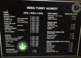 Coffeeshop Funky Munkey 2018 march