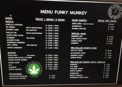 Coffeeshop Funky Munkey 2018 march