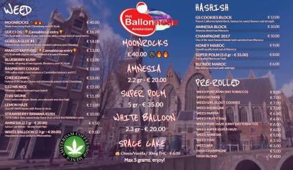 Coffeeshop Het Ballonnetje 2018 august