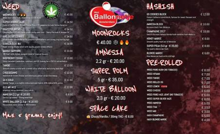 Coffeeshop Het Ballonnetje 2018 june