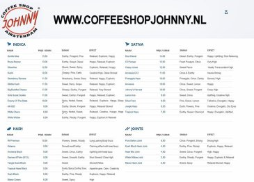 COFFEESHOP JOHNNY 2018 DECEMBER