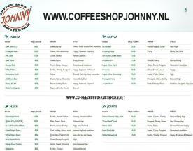 Coffeeshop JOHNNY 2018 february
