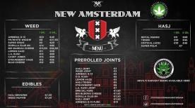 Coffeeshop New Amsterdam 2018 APRIL