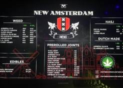 Coffeeshop New Amsterdam 2018 february