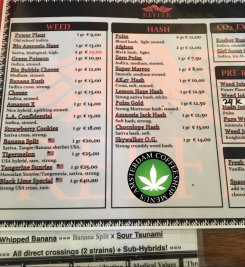 Coffeeshop Reefer 2018 march