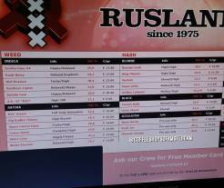 Coffeeshop Rusland 2018 january