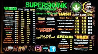 Coffeeshop Superskunk 2018 FEBRUARY