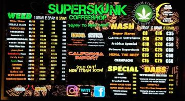 Coffeeshop Superskunk 2018 FEBRUARY