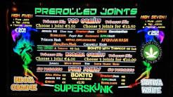 Coffeeshop Superskunk JOINTS 2018 FEBRUARY