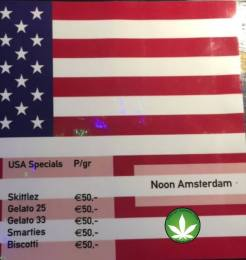 Coffeeshop U.S.A SPECIAL THE NOON 2018 JANUARY