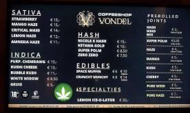 Coffeeshop Vondel 2018 JANUARY