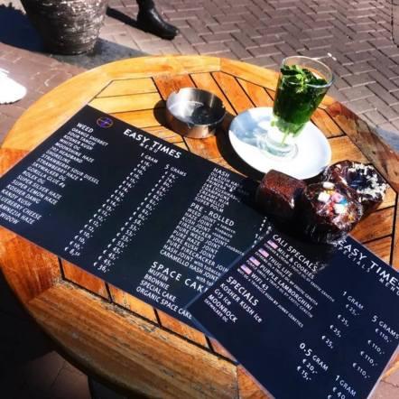 Easy Times Coffeeshop Amsterdam 2018 august