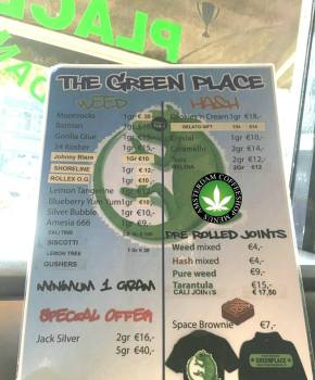 Coffeeshop Green Place 2018 june