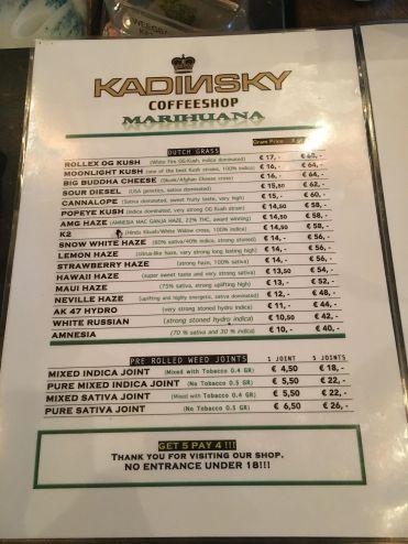 Kadinsky 2018 MARCH Weed
