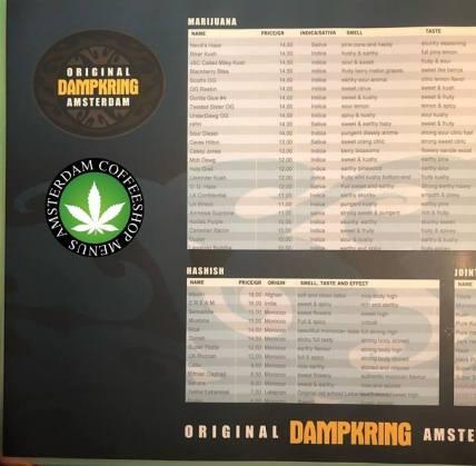 Original Dampkring Coffeeshop 2018 may
