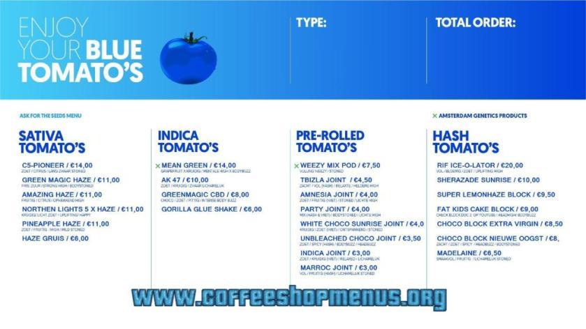 Blue Tomato 2020 october