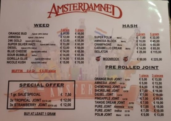 coffeeshop amsterdamned 2018 february