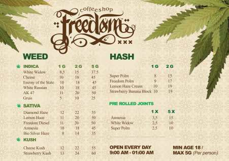 coffeeshop freedom 2019 january