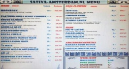 COFFEESHOP SATIVA AMSTERDAM 2019 FEBRUARY