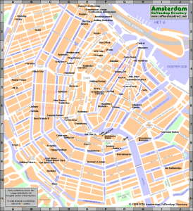 map coffeeshop amsterdam 2021
